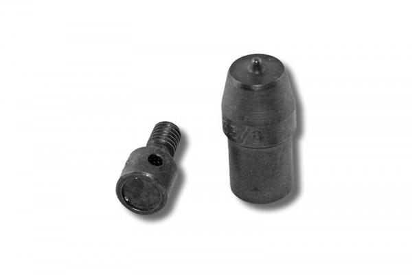 Rundkopfnieten-Einsetzwerkzeug 7 mm für Spindelpressen