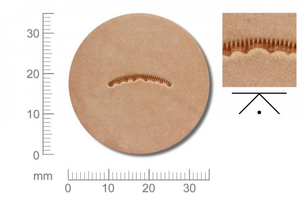 Rickert - Punziereisen / Prägewerkzeug V407 ( 2c-09 )