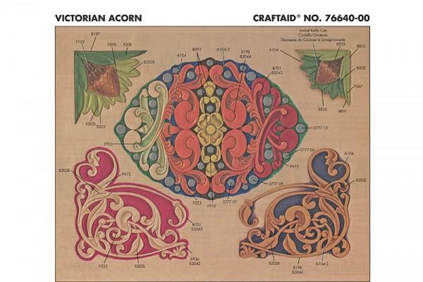 """Craftaid / Schablone """"Victorian Acron"""""""