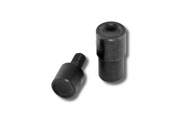 Doppel-Rundkopfnieten-Einsetzwerkzeug 9 mm für Spindelpressen