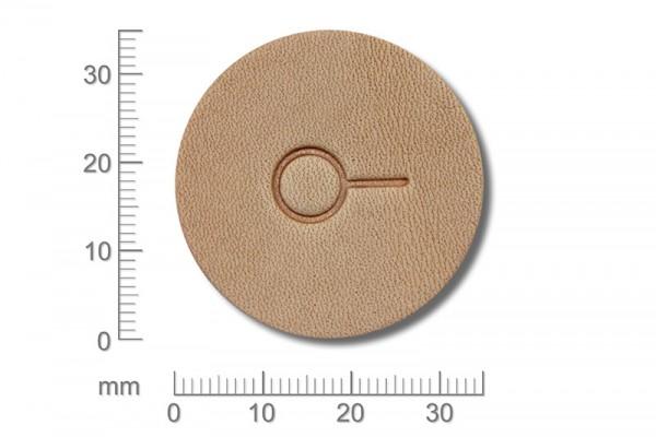 Punziereisen / Prägewerkzeug / Lederstempel E604 ( E-18 )