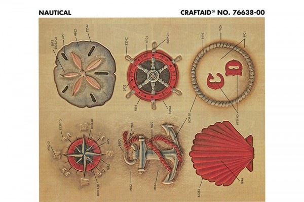 "Craftaid / Schablone ""Nautical"""