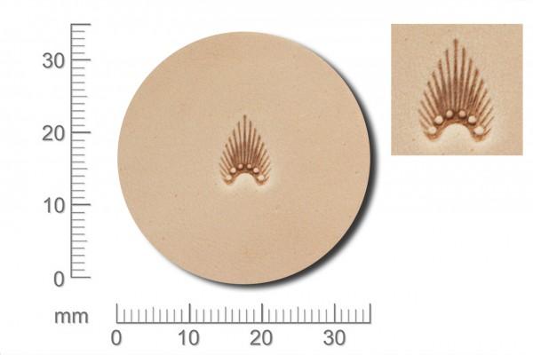 Craft Japan Punziereisen / Prägewerkzeug N301 ( 1u-17 )