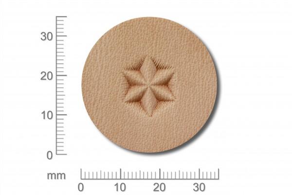 Punziereisen / Prägewerkzeug / Lederstempel G527 ( S IV-16 )