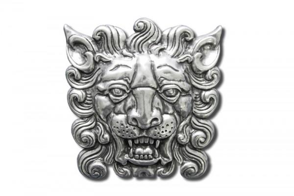 Gürtelschnalle, Motivschließe - Löwenkopf