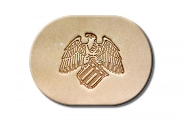 "Punzieraufsatz / Lederstempel ""American Eagle"""