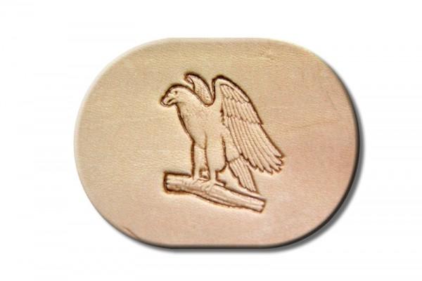 """Punzieraufsatz / Lederstempel """"Adler Flügel links"""""""