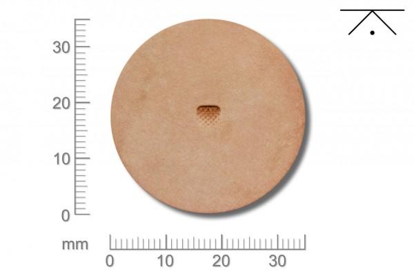 Rickert - Punziereisen / Prägewerkzeug B701 ( 2a-16 )