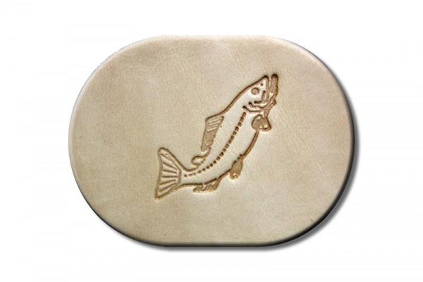 "Punzieraufsatz / Lederstempel ""Fisch"""