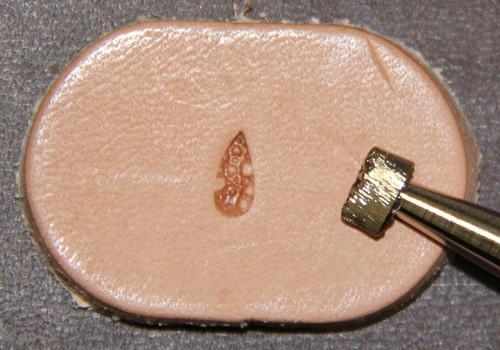 Punziereisen / Prägewerkzeug / Lederstempel M881 ( TF-03 )
