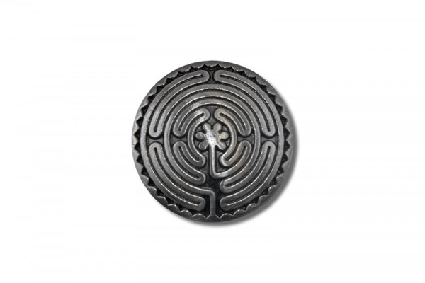Concho, Celtic Labyrinth 1 (antik silber)