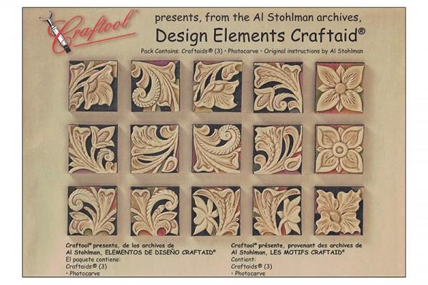 """Craftaid / Schablone """"Design Elements"""""""