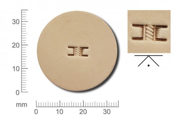 Rickert - Punziereisen / Prägewerkzeug X570 ( 2c-15 )