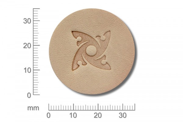 Punziereisen / Prägewerkzeug / Lederstempel K139 ( D I-19 )