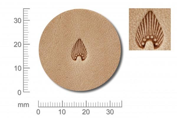 Punziereisen / Prägewerkzeug / Lederstempel N300 ( S-07 )
