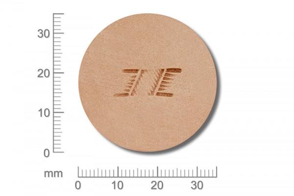 Punziereisen / Prägewerkzeug / Lederstempel X498 ( D II-09 )
