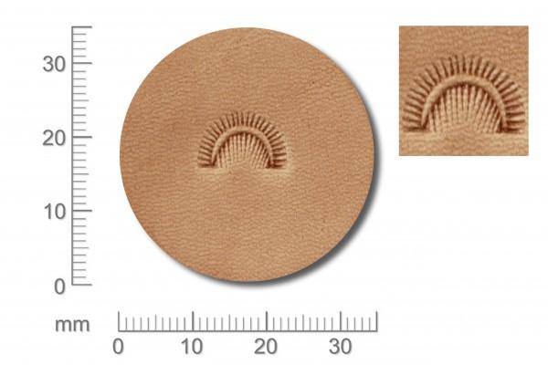 Punziereisen / Prägewerkzeug / Lederstempel D439 ( S-02 )