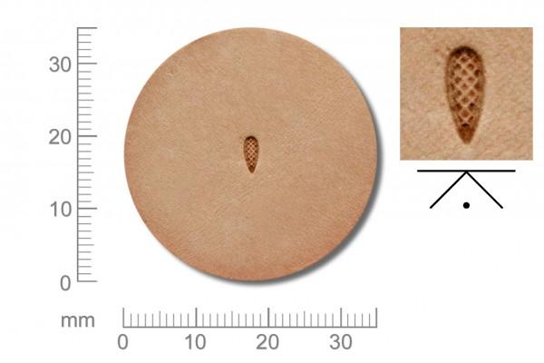 Rickert - Punziereisen / Prägewerkzeug A98 ( 2a-07 )