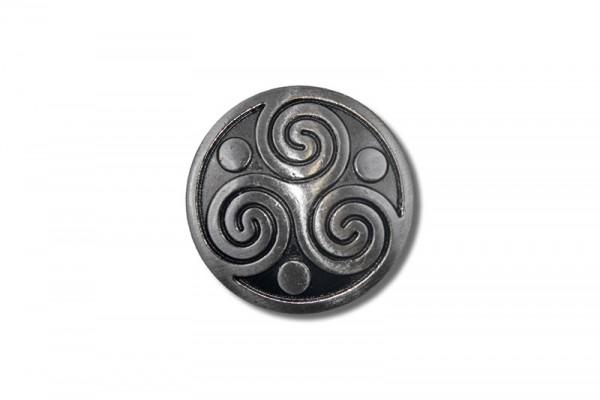Concho, Celtic Triskel 1 (antik silber)