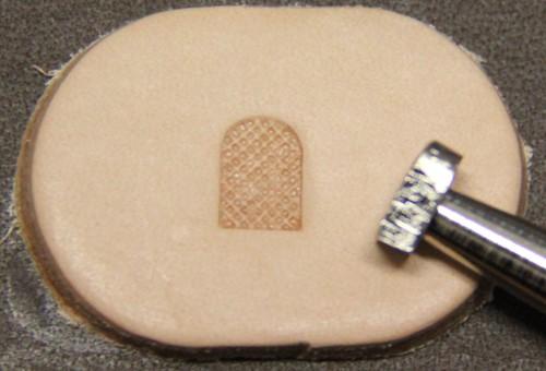Punziereisen / Prägewerkzeug / Lederstempel F898 ( E-10 )