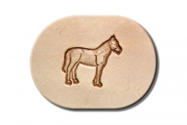 "Punzieraufsatz / Lederstempel ""Pferd rechts"""