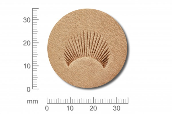 Punziereisen / Prägewerkzeug / Lederstempel C455 ( S III-01 )