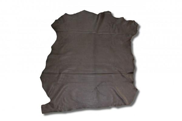 Ziege Futterleder (matt schwarz / 1,2 - 1,4 mm) 0,43 m²