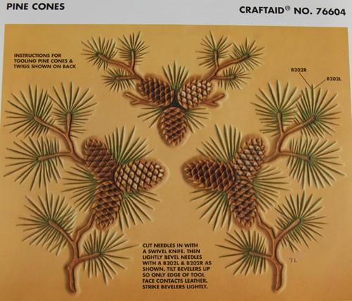 "Craftaid / Schablone ""pine cones"""