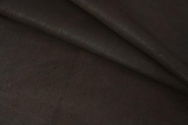 Ziegen - Futterleder (braun matt / 1,1 - 1,3 mm) 0,32 m²