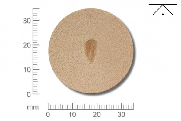 Rickert - Punziereisen / Prägewerkzeug P206 ( 2b-14 )