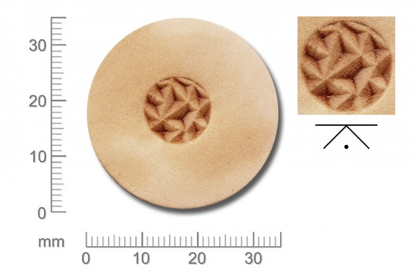 Rickert - Punziereisen / Prägewerkzeug Z002 (2e-07)