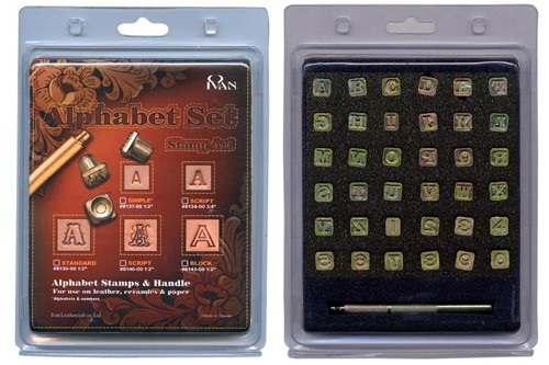 """Stamp Set """"Letters & Numbers"""""""