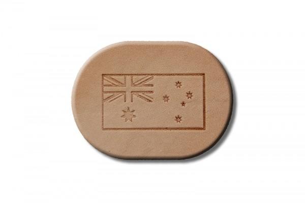 "Punzieraufsatz / Lederstempel ""Flagge Australien"""