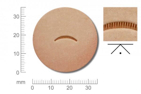 Rickert - Punziereisen / Prägewerkzeug V707 ( 2c-10 )