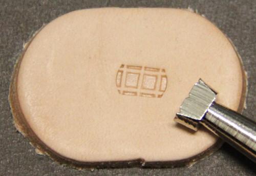 Punziereisen / Prägewerkzeug / Lederstempel M880 ( E-01 )