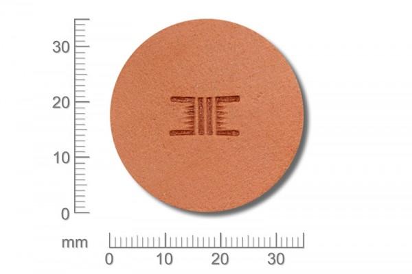 Punziereisen / Prägewerkzeug / Lederstempel X534 ( D I-04 )