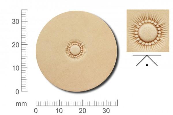 Rickert - Punziereisen / Prägewerkzeug J820 ( 2d-07 )