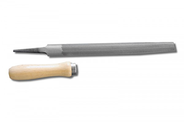 Werkstattfeile halbrund 200 mm DHieb 1