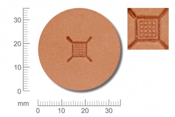 Punziereisen / Prägewerkzeug / Lederstempel G548 ( D III-04 )
