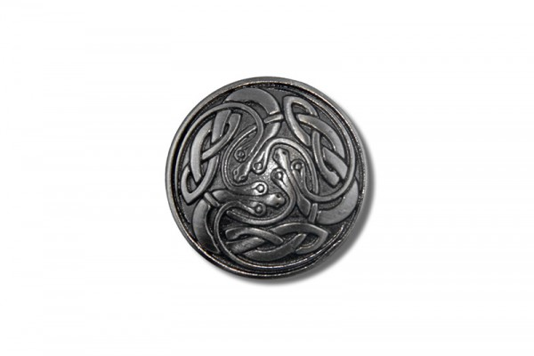 Concho, Celtic Snakes 1 (antik silber)