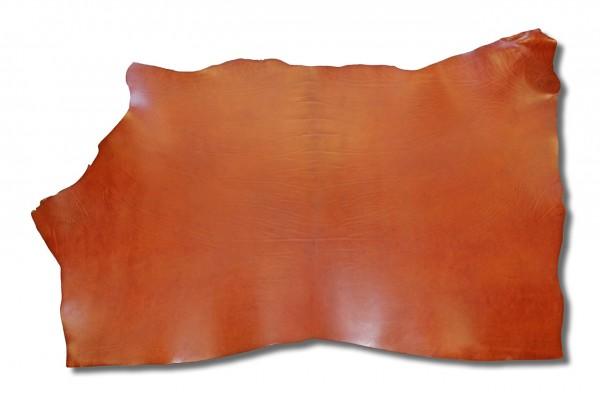 Blankleder mit Fahlleder-Fettung, cognac (3,3 mm - 3,8 mm) 1,27 m²
