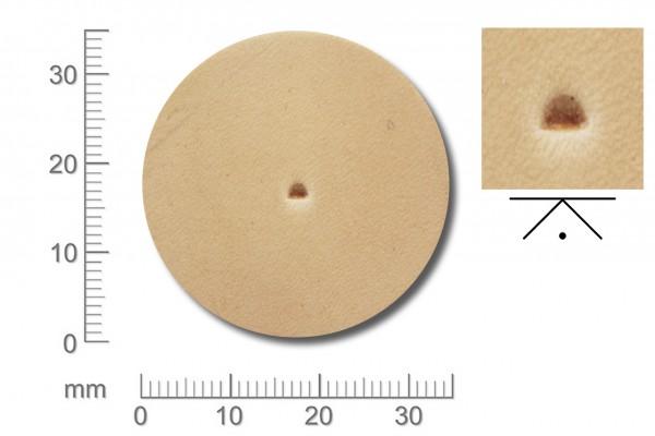 Rickert - Punziereisen / Prägewerkzeug F890 ( 2d-17 )