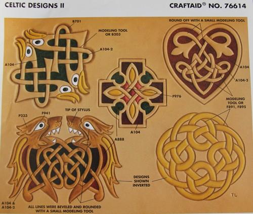 "Craftaid / Schablone ""Celtic Designs II"""