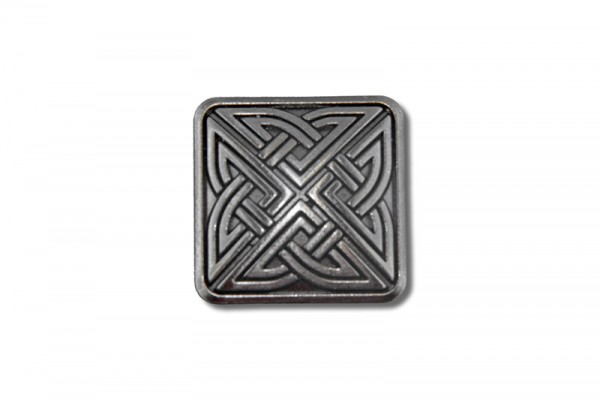 Concho, Celtic Knot 4 (antik silber)