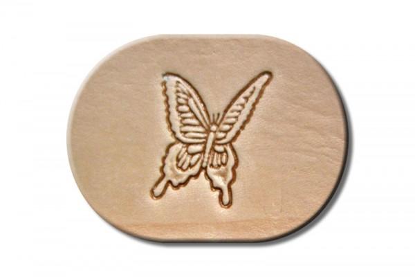"""Punzieraufsatz / Lederstempel """"Schmetterling I"""""""