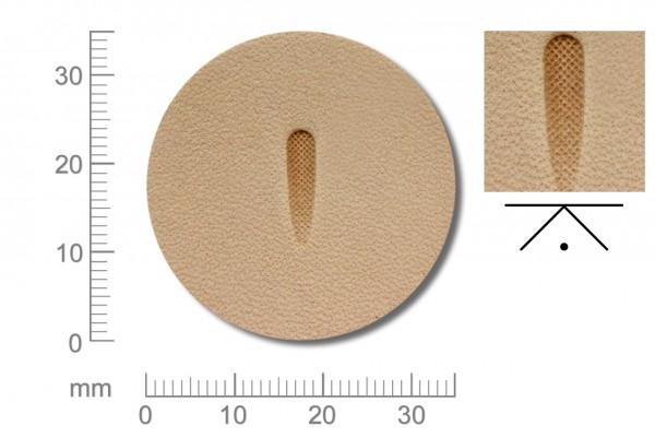 Rickert - Punziereisen / Prägewerkzeug P370 ( 2c-03 )