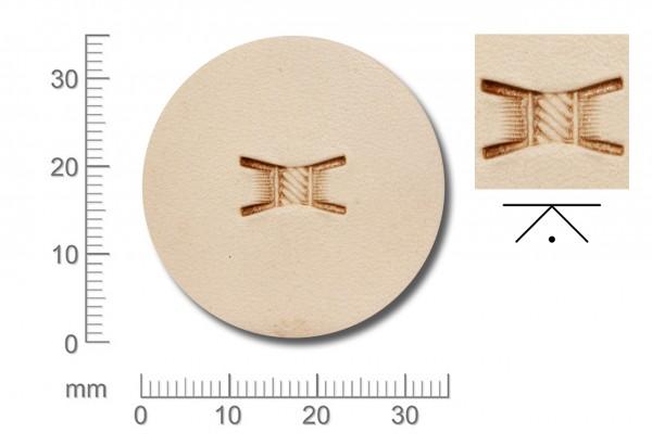 Rickert - Punziereisen / Prägewerkzeug X514 (2d-19)