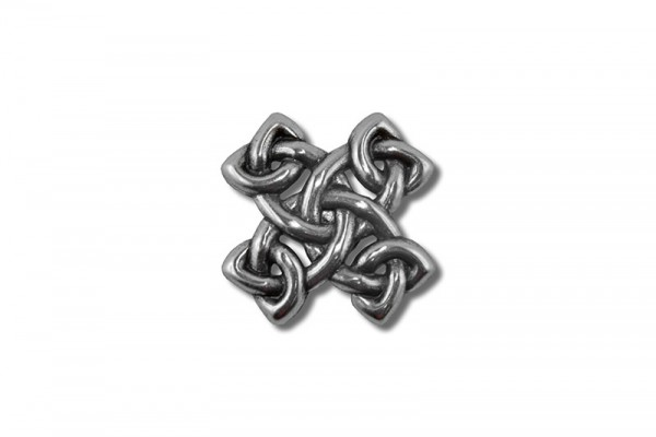 Concho, Celtic Knot 6 (antik silber)
