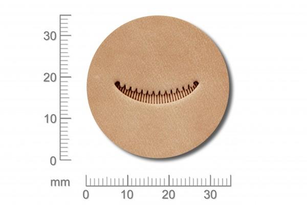 Punziereisen / Prägewerkzeug / Lederstempel V412 ( S III-04 )