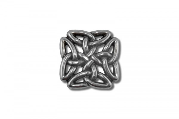 Concho, Celtic Knot 7 (antik silber)